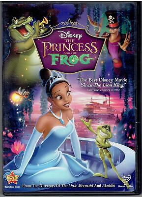 The PRINCESS AND THE FROG From Directors Of Little Mermaid & Aladdin 2010 DVD