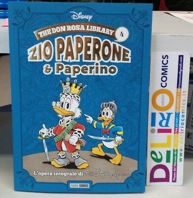 THE DON ROSA LIBRARY:ZIO PAPERONE E PAPERINO VOL.4 Ed. PANINI COMICS SCONTO 10%