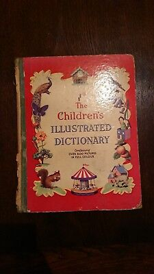 The Children's Illustrated Dictionary - 1950 - Hardback Book by Nash
