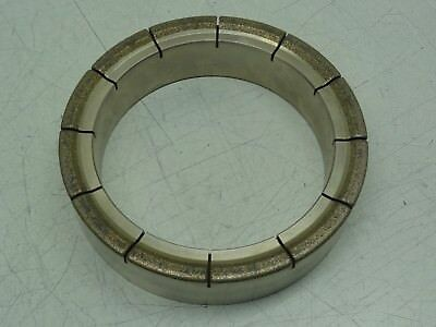"Engis Corp. PCR102-2 REV. H Diamond Plated Conditioning Ring 7""OD x 5-1/2""ID"