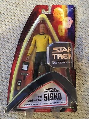 Star Trek Deep Space Nine Captain Benjamin Sisko Action Figure