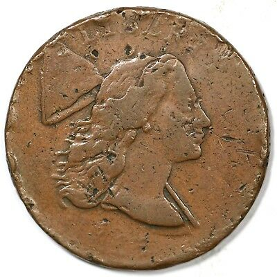 1794 S-22 Double Struck MDS Liberty Cap Large Cent Coin 1c