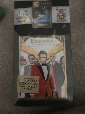 Kingsman: The Golden Circle Blu Ray + DVD + Digital Walmart Exclusive Brand New