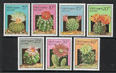 Viet Nam 1987 Flowering Cacti