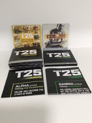 T25 DVD's Used