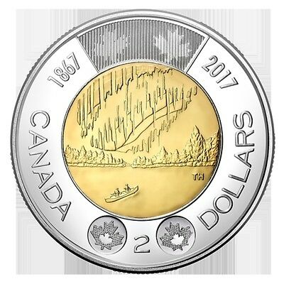 2017 CANADA150 $2 (TOONIE) DANCE OF THE SPIRIT Special Edition Circulation Coin