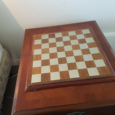 Royal Selangor Pewter And Wood Chess Board