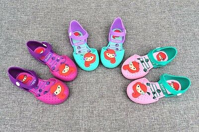 Mini Melissa Mermaid Jelly Girl Baby Princess Shoes Sandals US Size 8-13