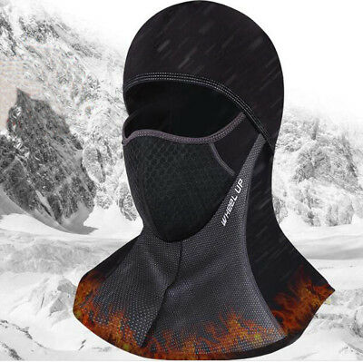 Winter Cycling Cap Windproof Thermal Face Mask Balaclava Bike Neck Hat Warm
