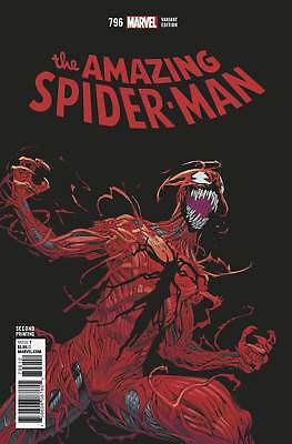 Amazing Spider-Man #796 Marvel 2018 Red Goblin Carnage 2nd Print 9.6 NM+