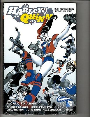 Harley Quinn Vol. # 4 Call To Arms DC Comics SEALED HARDCOVER Graphic Novel J300