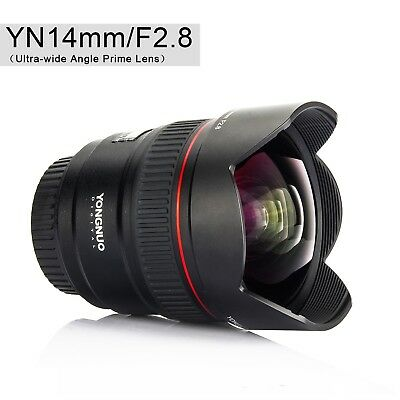 Yongnuo YN14mm F2.8 Auto focus Metal Mount Ultra-wide Angle Prime Lens for Nikon
