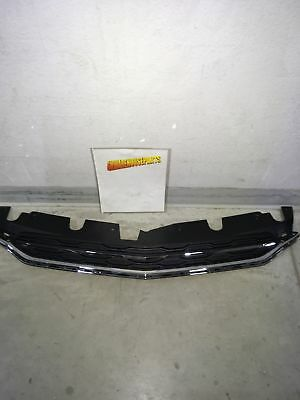 2016-2017 Chevy Equinox Front Upper Grille Chrome/black New Gm #  23382107