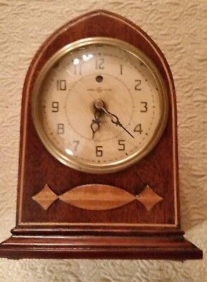 Vintage 1930's  General Electric  TELECHRON model 328 MANTLE CLOCK