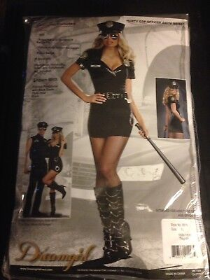 Dirty Cop Officer Anita Bribe Adult Costume Style # 8816  Size XL..G2