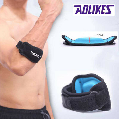 US Sports Tennis Elbow Band Brace Golf Tendonitis Support Strap Hand Protect