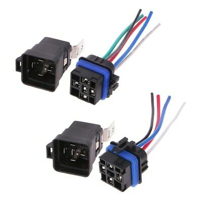 Waterproof Integrated Automobile Relay DC 12V 40A Auto Car Relay & Socket Holder