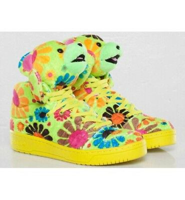 f77b6ed17d51 ADIDAS JEREMY SCOTT Js Bear Flower Power