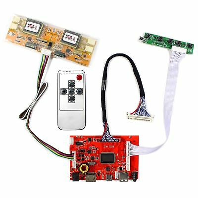 HDMI Type C Audio LCD Driver Board for 1280x1024 4CCFL 30 pin LCD Display Panels