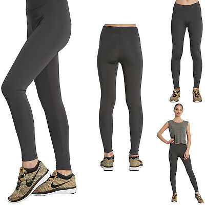 Women Leggings for Yoga, Fitness, Sports, Gym Colour: Anthracite