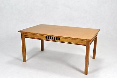 Dollhouse Miniature 1:12 Scale Mission Style Table #12082WN