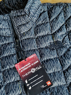 THE NORTHFACE 2017 Mens XL Thermoball Quilted Jacket NWT 100% Authentic
