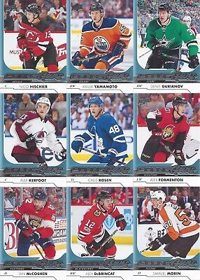 2017-18 Upper Deck Series 1 In Hand  ( Young Guns ) U-Pick From List