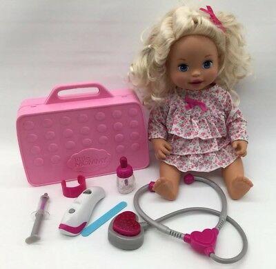 "Mommy Make Me Better 2011 Mattel 10"" Interactive Talking Doll + Accessories,"