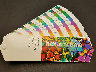 Pantone Hexachrome color selector coated