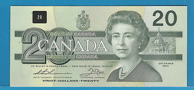1991 Bank Of Canada $20 With Serifs BC-58a-i EIS4895351 Thiessen /Crow  Gem/Unc