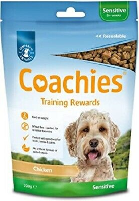 Coachies Natural Dog Training Treats Adult Hypoallergenic Glucosamine Healthy