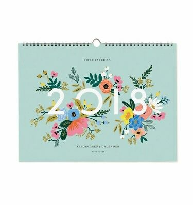 Rifle Paper Co. - 2018 Appointment Calendar