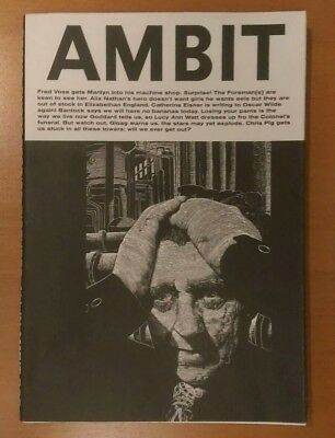 Ambit Issue 203, Poetry, Short Stories and Pictures