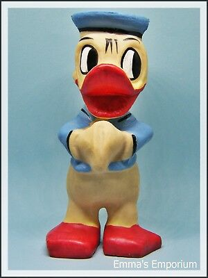 Vintage Disney Squeaky Donald Duck Toy