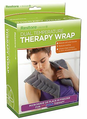 Gaiam Restore Dual Temperature Therapy Wrap  HOT OR COLD/MICROWAVE OR FREEZER