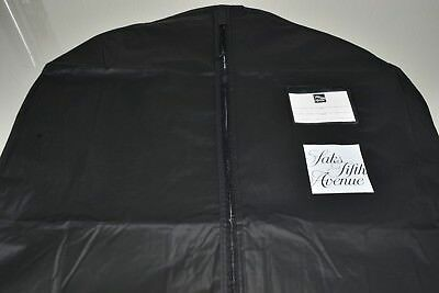 "NEW  Saks Fifth Ave 72"" LONG  Suit Gown Dress Coat Garment Storage Travel XL Bag"