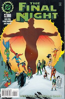 Final Night #4 1996 Dc -Week Four: Emerald Dawn-Final Knight Kesel/immonen...vf+