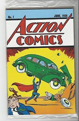 Superman Action Comics #1 2017 Loot Crate 1938 Reprint with COA Unopened A3