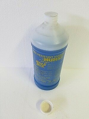 Hurst Blue Rescue Tool Hydraulic Fluid 5,000 psi Fire-Resistant Low Pressure