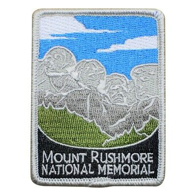 Mount Rushmore National Memorial Patch - Washington Jefferson Roosevelt Lincoln