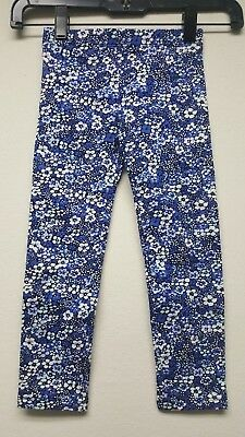 Gap Kids Toddler Girls Stretch Jersey Leggings - Pangea Blue #4172