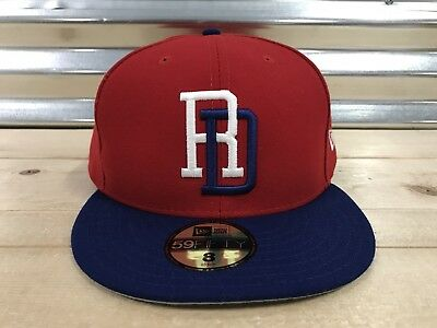 c1f947c066b ... denmark dominican republic new era 59fifty world baseball classic  fitted hat cap red new afff0 e64cd