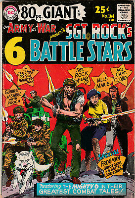Our Army At War #164 – 80 Pg. Giant (Feb 1966 DC Comics) FN 6.0