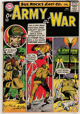Our Army At War #150 (Jan 1965 DC Comics) GD 2.0 - Sgt. Rock - Joe Kubert