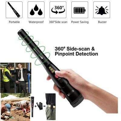 Waterproof Portable Pinpointer Pin Pointer Metal Detector Gold Digger Finder LED