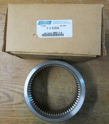 NEW NOS Lovejoy 00114 697904 C 3 Coupling Sleeve