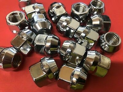 HOLDEN COMMODORE Tapered CHROME Open End Wheel Nuts 12x1.5 Qty20