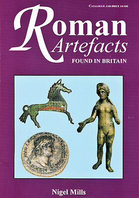 'Roman Artefacts found in Britain' Book Reference Buckle Ring Amulet Gold Silver