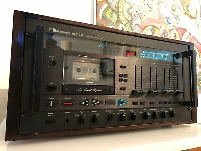 Nakamichi 1000ZXL Cassette Deck Collector Condition with Wood Case