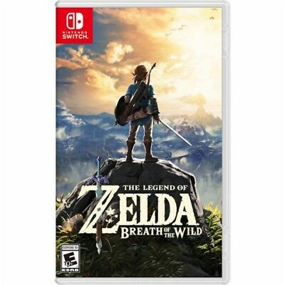 Legend of Zelda: Breath of the Wild (Nintendo Switch, 2017) New ships in 1 day